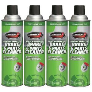 Johnsen Brake Cleaner Original Formula Non-Chlorinated, ABS disc 14oz -4 Pack