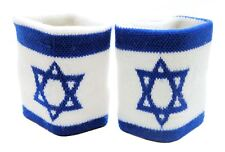Wipe Sweat Protector Tennis Gym Wristband Exercise Holy flag souvenir Star gift