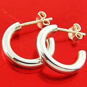 Earrings Real 925 Sterling Silver Ladies Hoop Studs Drops Hook Dangly Design