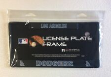 Los Angeles Dodgers Metal License Plate Frame - Car Auto Tag Holder - NEW Black