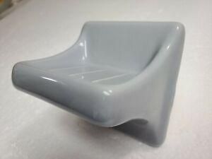 Country Grey Gray Ceramic Corner Tray Shower Shelf Ledge Soap Dish Kohler K126