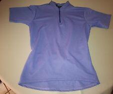 Performance Womens cycling jersey Shirt size XS 3 pockets Stretch Sport Purple