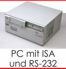 Mini-PC for MSDOS win 95 98 566 MHz CPU, 256 MB de RAM isa 2x USB 4xrs 232 LPT #w2