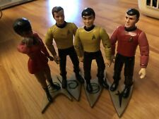 Classic Star Trek Bridge Collector Figure Lot 1993 Playmates Limited Edition