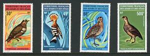 French Colonies Afars & Issas 1972 Birds Set of 4 MNH Yvert Cat.€73