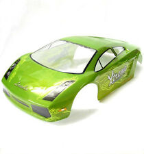 10123 1/10 SCALE DRIFT TOURING CAR BODY COVER SHELL RC GREEN LAMBOGHINI