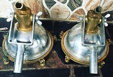 Nautical Aluminium & Brass Smooth Cargo Pendant Light – Small Lot Of 2 Pcs