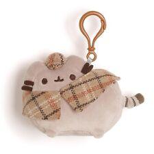 Gund Pusheen Detective Plush Backpack Clip Keychain New