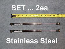 "2ea Stainless Steel 12"" 60# RV Trailer Marine Gas Strut Shock Spring Lift Ram"
