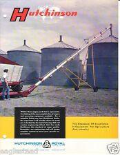 Farm Equipment Brochure - Hutchinson - Grain Auger Bin Unloading Systems (F2338)