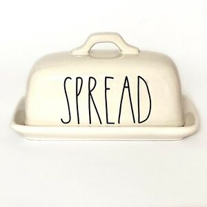 Rae Dunn Butter Dish Top Handle Artisan Collection by Magenta