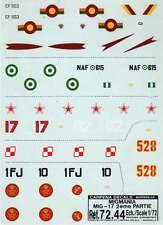Colorado Decals 1/72 Mikoyan MiG-17 Part 2 # 72044