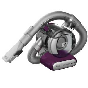 Black and Decker HFVB320J27 2Ah Cordless Lithium-Ion FLEX Hand Vacuum - Purple