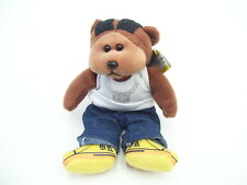 BEANIE KIDS BK842 CHOC ICE TEA THE RAPPER BEAR 2.5.10 TAURUS COLLECTABLE BEAR