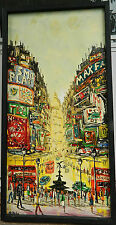 """5 (OR LESS) MODERN IMPRESSIONIST ART ORIG ACRYLIC PAINTINGS SIGNED BY """"RODRIG"""""""