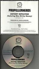PROPELLERHEADS w/ SHIRLEY BASSEY History Repeating 1998 PROMO DJ CD single USA