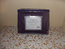 S.L  Signature Collection  Embroidered Queen Size Sheet Set
