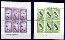 Nueva Zelanda fauna aves  hojitas del año 1961 (W-666)