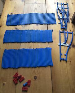Lego Schienen Blau
