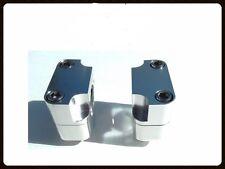 """Honda Yamaha Suzuki Kawasaki 28mm or 1,1/8"""" Bars Universal Handelbar Risers"""