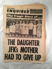 National Enquirer November 5 1967 Tabloid Newspaper Kennedy JFK Mickey Rooney