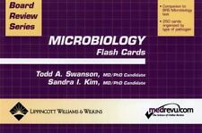 Board Review: Microbiology by Todd Swanson and Sandra I. Kim (2003, Cards,Flash