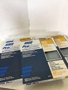 "Qty.  100 Norton Prosand 180 9"" x 11"" Sheets"