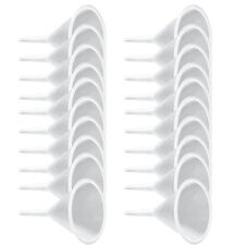 20pcs/Lot Small Funnel Plastic for Perfume Oil Laboratory Kitchen Bottle