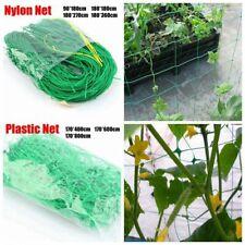 Plastic Nylon Net Support Garden Plants Morning Vines Climbing Flowers Holders