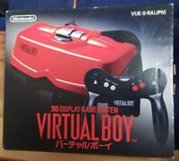 Nintendo Virtual Boy Red & Black Console:System Vintage Family computer TESTED!