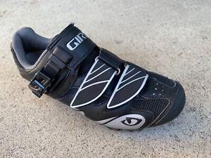 GIRO Size 5 Women's Manta Mountain Bike Cycling Shoes - Black/Silver Eu 36 Uk 3