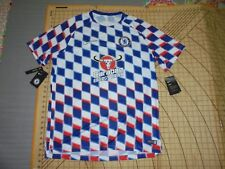MENS XLARGE BLUE/WHITE/RED NIKE CHELSEA SOCCER JERSEY - NWT