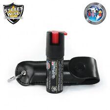 Police Strength Streetwise 23 Pepper Spray 1/2 oz Black NEW