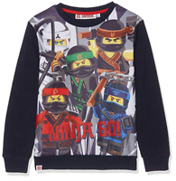 Lego Ninjago Fleece Sweatshirt | Last One Left - Size 3 to 4 Years | Clearance