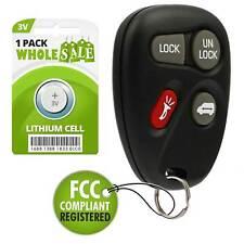 Replacement For 1999 2000 2001 Pontiac Montana Key Fob Remote