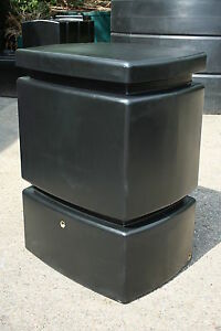 Rainwater Harvesting Package - 525l water butt, filter and water butt pump