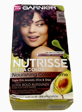 NEW! Garnier Nutrisse Ultra Color Creme Permanent Haircolor BR3 Intense Burgundy