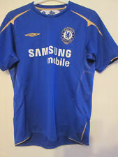 CHELSEA 2005-2006 centenaire home football shirt large / 35359
