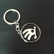 For Skoda Fashion Zinc Metal Key Chains Ring Metal Keyrings Keychain Car Logos