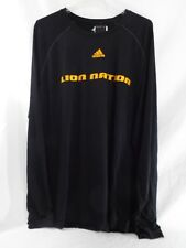 Adidas Long Sleeve Lion Nation Climalite Black Yellow Print T Shirt XL Orlando