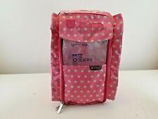 New listing Zuca Insert Bag Pink Pokadot Free Ship Only Bag