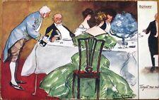 Lance Thackeray/Artist-Signed 1907 Raphael Tuck 'Botany' Postcard: Forget-Me-Not