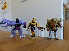 Transformers-Robot Heroes-Conjunto de 3-Megatron, Ratonera + Blackarachnia (BW)