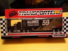 Matchbox Superstar Transporters 1993 Grand National. Alliance #59 New in package