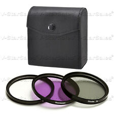 49mm Filter Kit  UV+ FLD+CPL F/ Sony NEX-3 NEX-5
