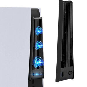External 3 Cooling Fans with USB 3.0 For PlayStation 5 and PS5 Digital Edition