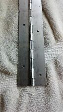 """Aluminum Piano Hinge 1""""x1""""x .040"""" With Holes, Starting at $3.95 Made in USA"""