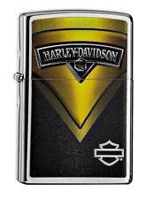 Zippo Harley Davidson 60000478 Primavera 2015 CROMO BRUSHED