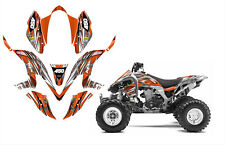 Kawasaki KFX 450R graphics decal kit 24mil thick racing vinyl #1216 Orange