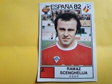 Album Panini ESPANA 82 Figurina n°397 SCENGHELIJA URSS SSSR Soccer rec